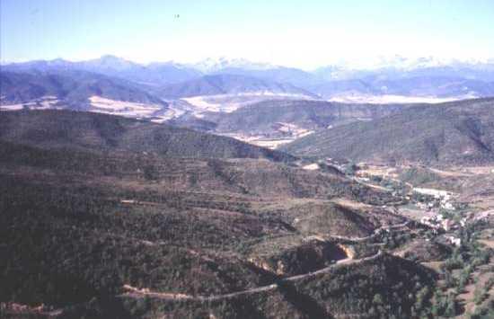 Sierra of San Juan de la Peña