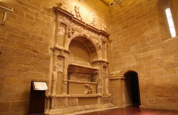 El sepulcro del virrey don Juan de Lanuza