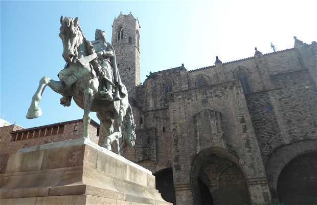 Statue de Ramon Bérenger III
