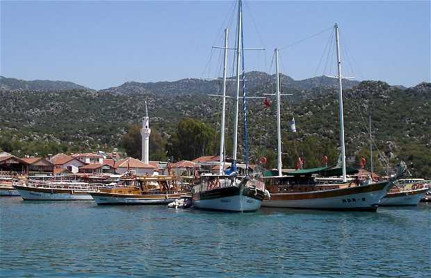 Ancient Lycia coast