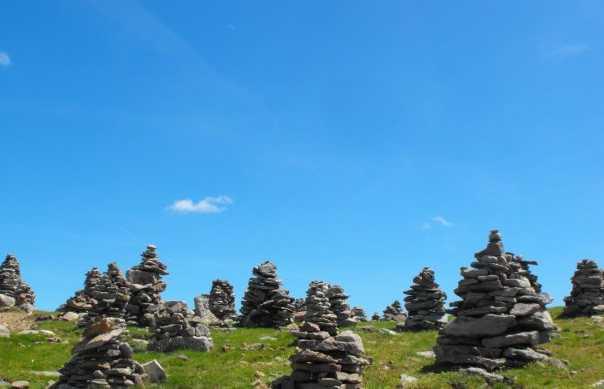 Hombres de piedra en Val Sarentino