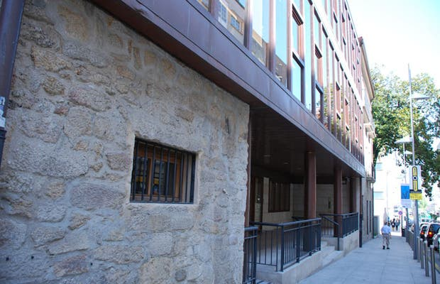Nouvel édifice du musée de Pontevedra