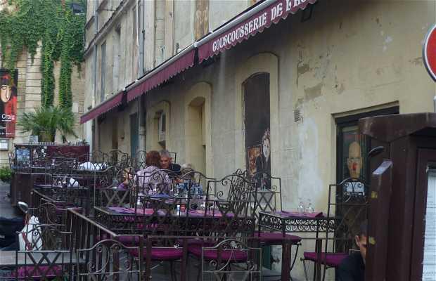 La couscousserie de l'horloge, Avignon, France