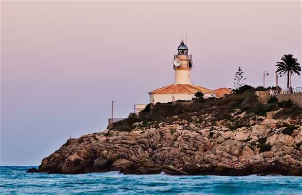 Faro de Cullera y alrededores