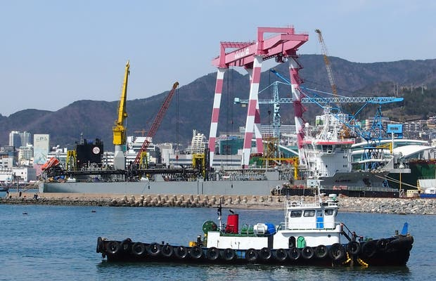 Paseo marítimo Yeongdo