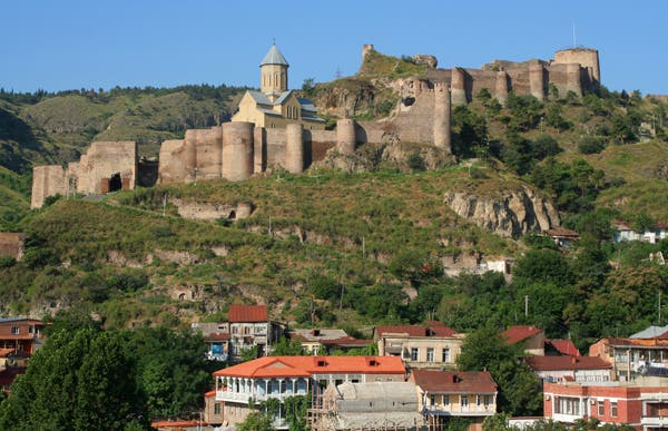 Narikala, la forteresse de Tbilisi