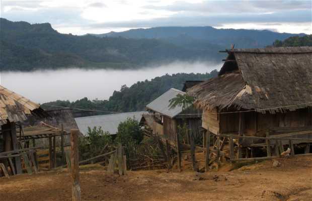 Poblado Akha de Nam Tha