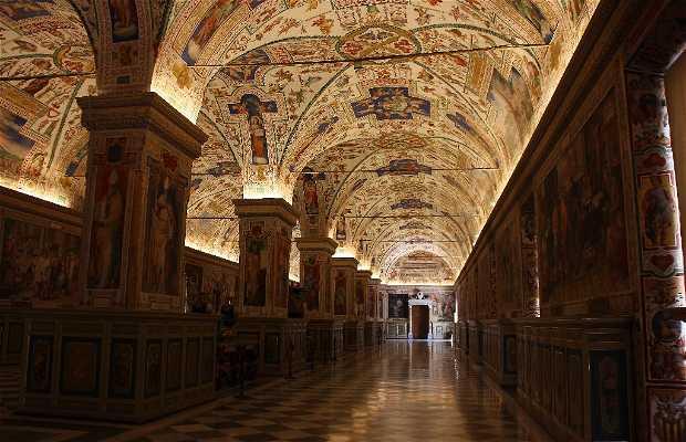 biblioteca dos Museus Vaticanos