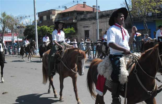Desfile de 20 Setembro em Uruguaiana