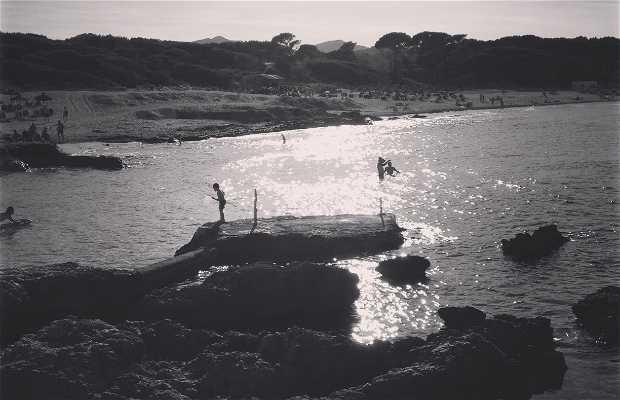 Cala Aguila Beach