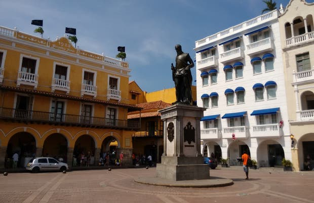 Estatua de Pedro de Heredia