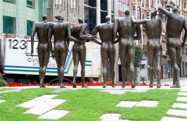 Sculpture Monument à l'Entente