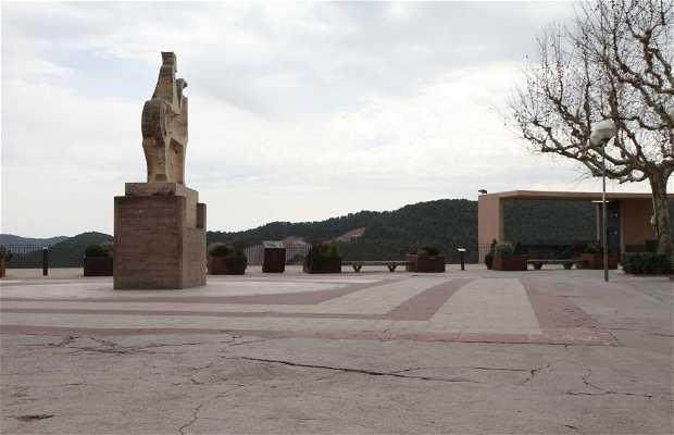 Escultura ecuestre Conde Borrell II