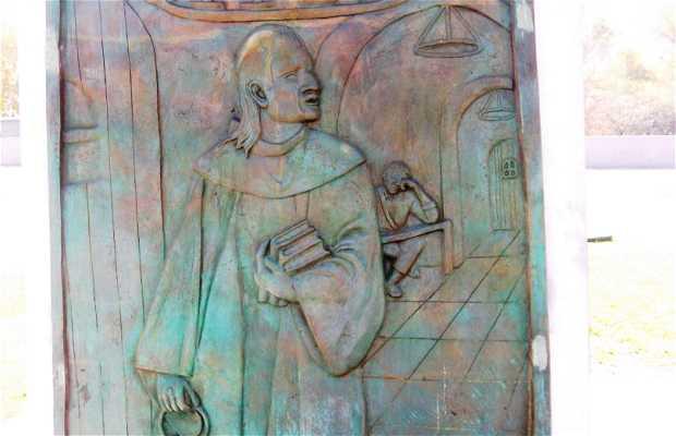 Estatua a Frey Servando Teresa de Mier