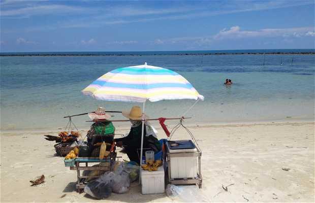 Puestos de comida de Chaweng Beach