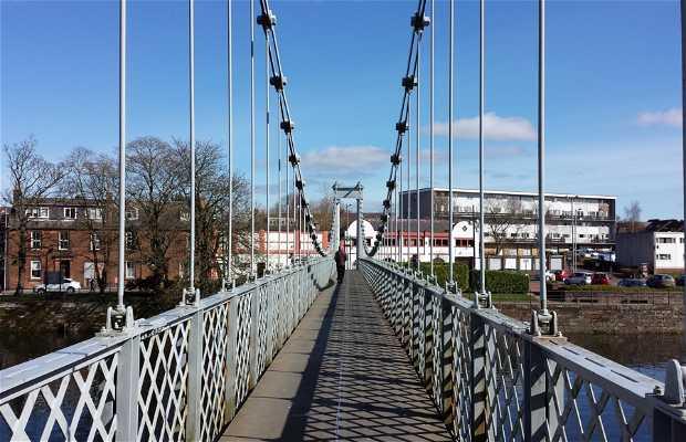 El puente suspendido de Dumfries