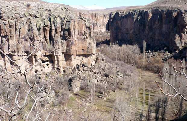 El cañón de Ihlara