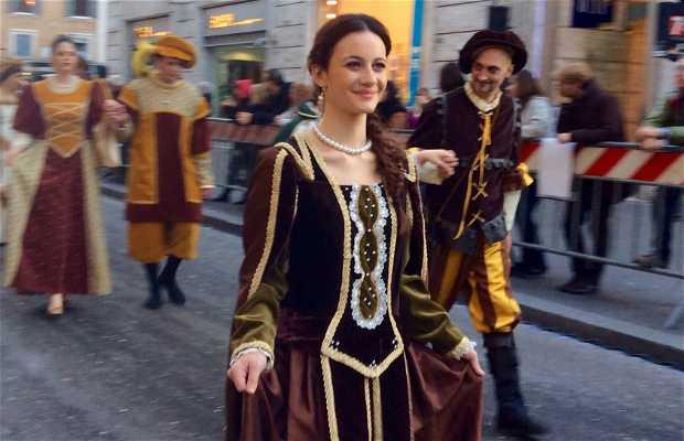 Carnaval en Roma