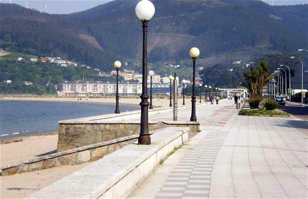 Promenade maritime de Covas