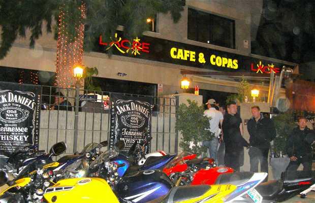 Le pub de Copas en Jerez