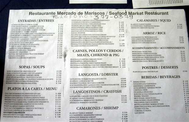 Restaurante Mercado de Mariscos