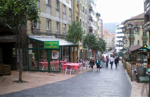 Calle Gascona a Oviedo