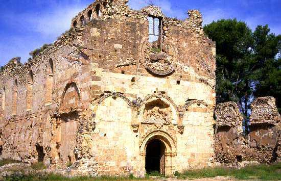 Ruines du Monastère de la Vall del Crist