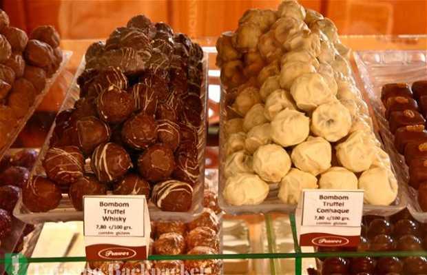 Negozio vendita cioccolato Prawer