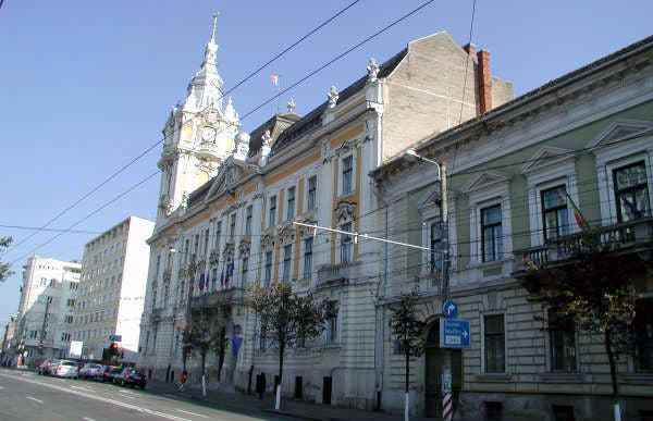 Primăria Municipiului - Ayuntamiento de Cluj-Napoca