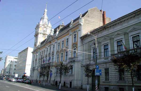 Primăria Municipiului - Cluj-Napoca Town Hall