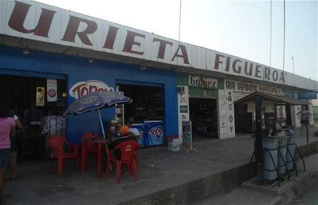 Centro comercial de Puerto Lopez