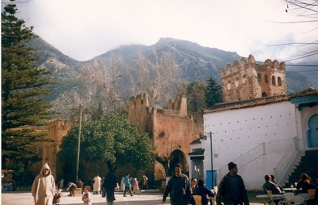 Plaza of chef chaouen