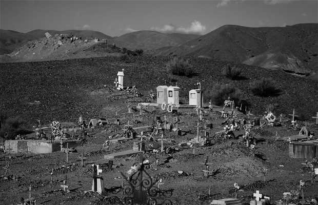 Cementerio en las montañas