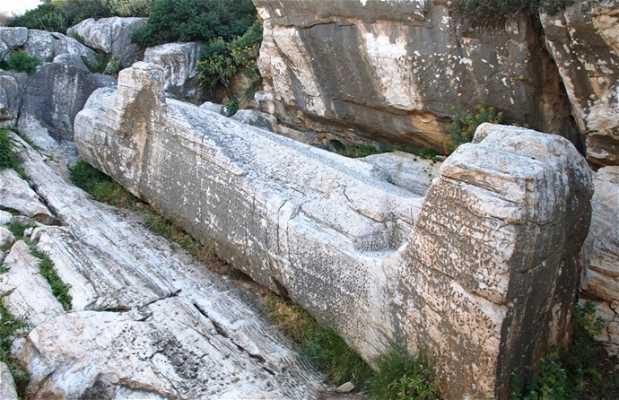 El Kouros de Apollonas