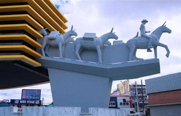 Monumento aos Tropeiros. Campina Grande, PB