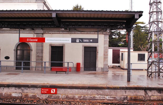 La gare El Escorial