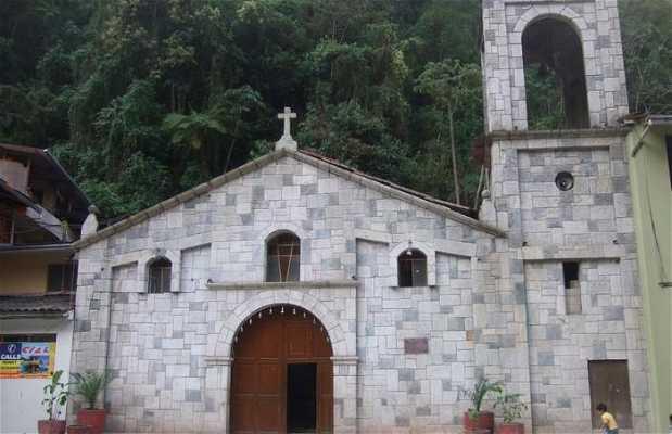 La iglesia de Agua Calientes
