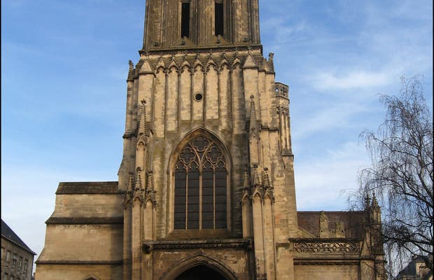 Iglesia San Juan, Caen, Francia