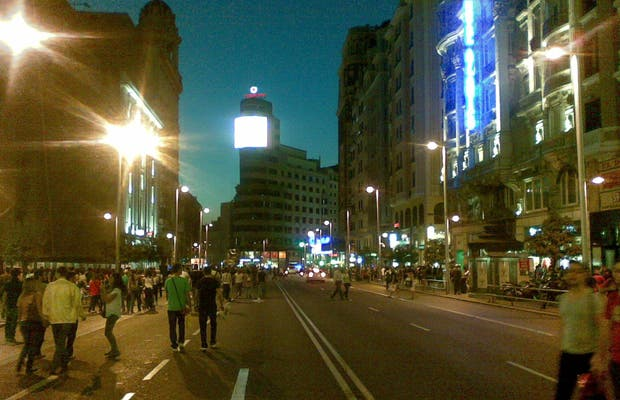 The Corner of Tres Cruces and Gran Via