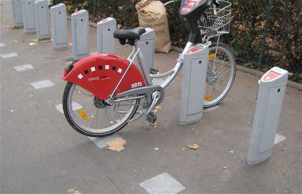 Transportes públicos en Lyon