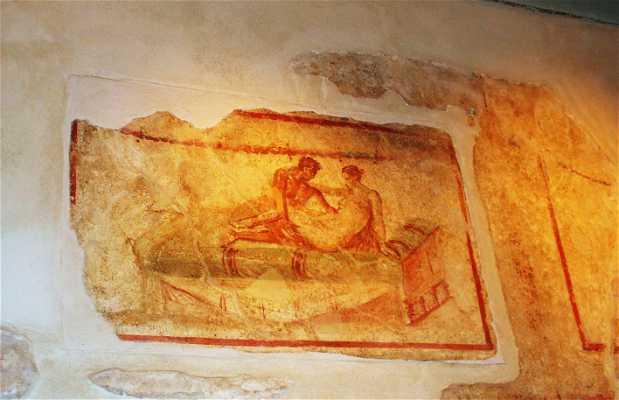 Ruínas da Pompeia
