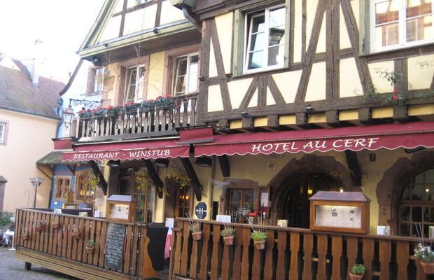 Restaurant hôtel au cerf