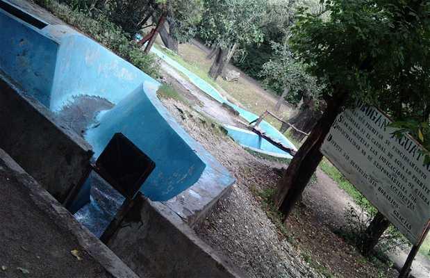 Le tobogan aquatique du parc Garcia Lorca