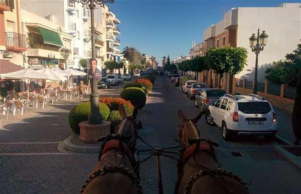 Isla Cristina en coche de caballos