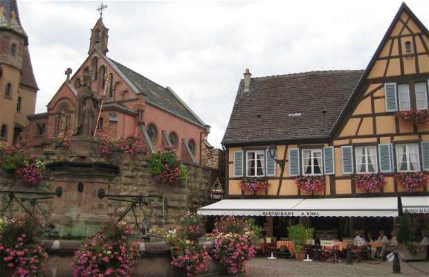 Fontaine d'Eguisheim