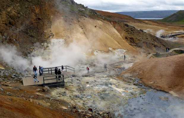 Área geotérmica de Krýsuvík
