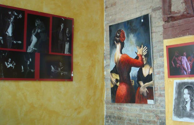 Tienda Exposición Flamenco La Alboreá