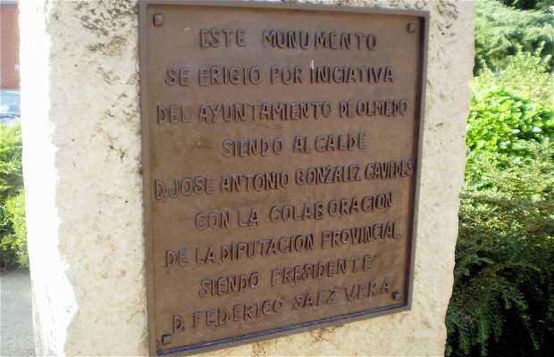Monument au chevalier d'Olmedo