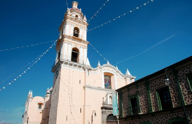 Zócalo de San Pedro de Cholula