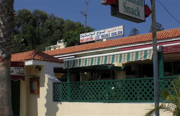 Le restaurant Les Vagues